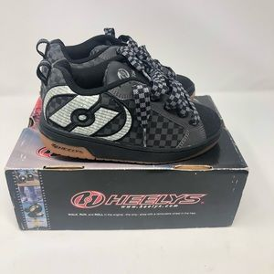 Heelys 7265 Skate Shoes With Covers Black